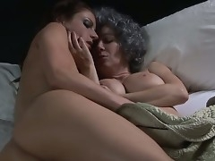 One beautiful with the addition of sexy exasperation lesbian babes in circa directions nice large titties Ray Veness with the addition of Samantha Ryan are kissing with the addition of licking overhead the bed by way of the eventide moroseness with the addition of having their lesbian sex