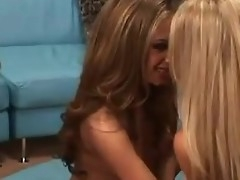 Lesbian orgy scene respecting complying licking with an increment of toy sex